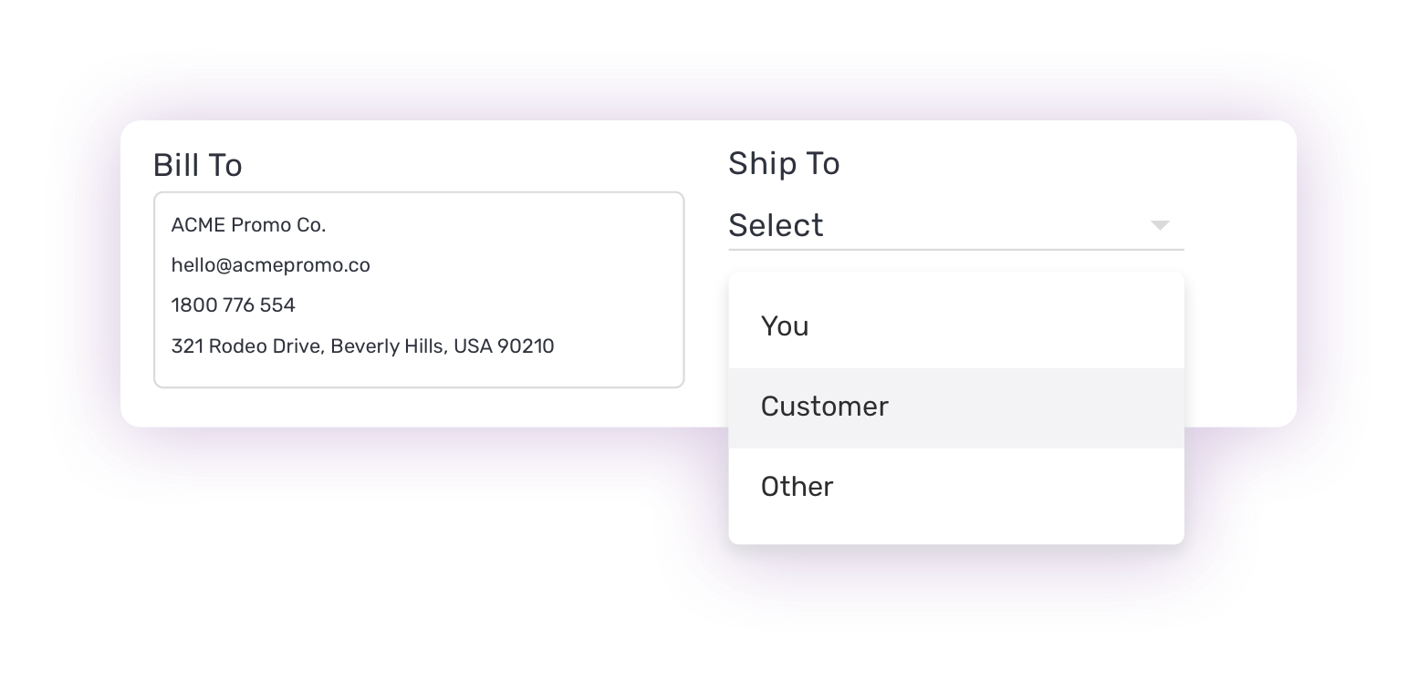Hoops purchase orders software
